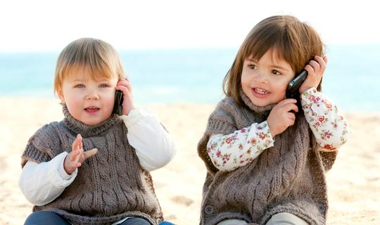 Bebe Hablando Por Telefono: Las Mejores Aplicaciones Para Los Peques